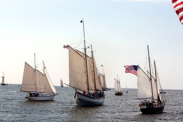 AMY SWEENEY/Staff photo.<br /> The 33rd annual Schooner Festival.<br /> Sept. 4, 2017