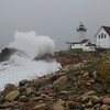 Heavy Surf at Eastern Point Light