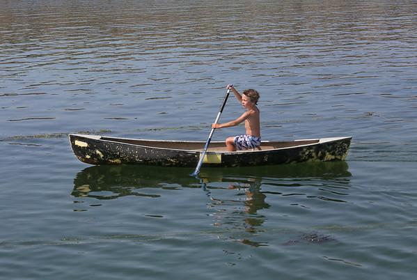 Canoe Paddler