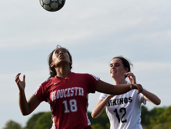 Gloucester Girls Soccer vs Winthrop