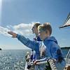 "Mike Springer/Gloucester Daily Times<br /> ""I like trying to convey what an experience feels like, rather than simply what it looks like. In this situation, two students from Plum Cove Elementary School, Connor Vittands and Emily Ross, were on a field trip aboard the schooner Thomas E. Lannon in late September. With a light breeze and brilliant sunshine, it was a beautiful day to be out on the water."""