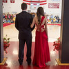 Desi Smith/Gloucester Daily Times. A couple waits to be called to promenade around the school gym in front of friends and family  before heading to their prom in Georgetown.    May 17,2013