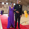 Desi Smith/Gloucester Daily Times. Rockport High School students Molly Watson and Eric Littlefield stop for photos as they promenade around the school gym before their prom in Georgetown.    May 17,2013