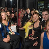 Desi Smith/Gloucester Daily Times.  Rockport High School students with their dates aboard a bus bound for their prom in Georgetown. May 17,2013