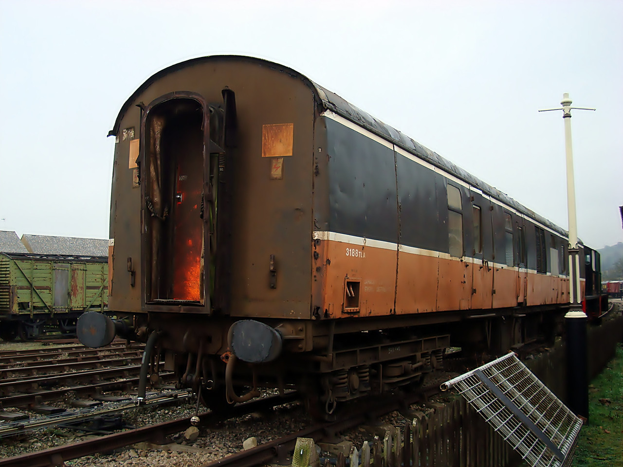 BR 3188 (34701) Mk 1 Brake Corridor Second 30,11,2008