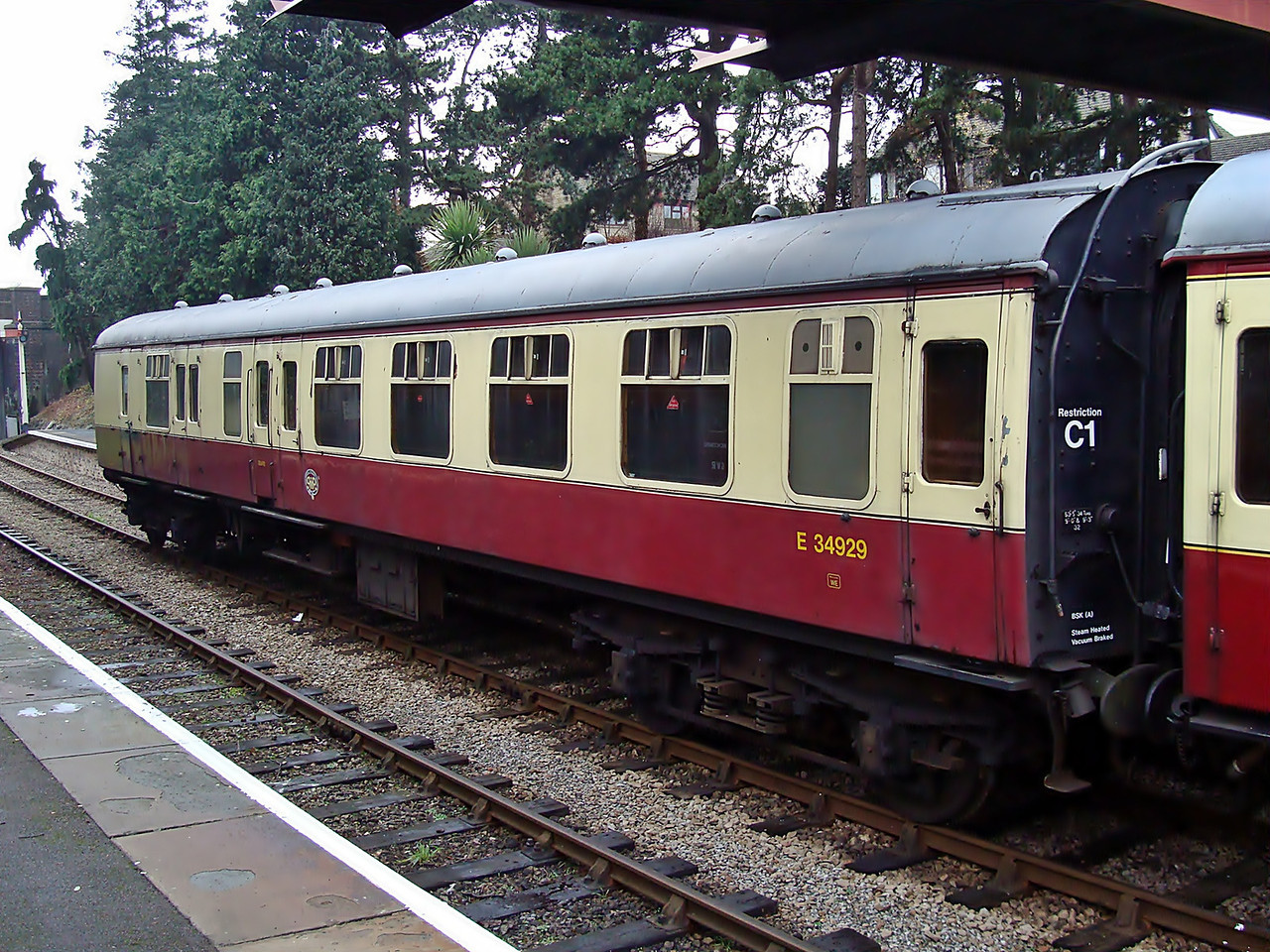 BR 34929 Mk 1 Brake Corridor Second 30,11,2008
