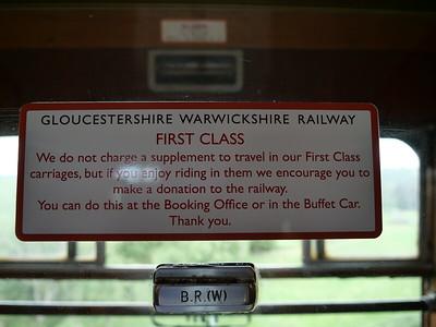 First class notice