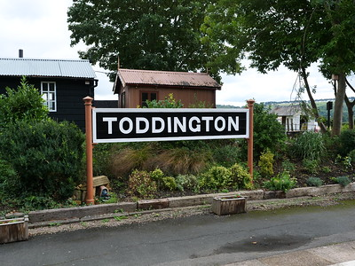 Toddington station board