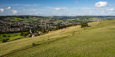 Selsley Common above Stroud