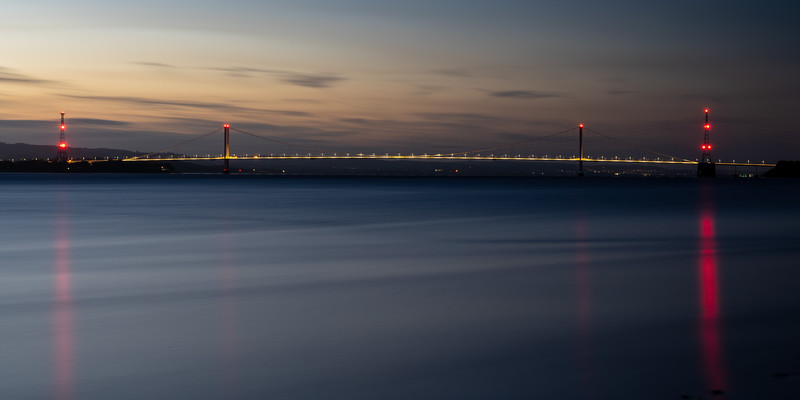 Severn Bridge sunset