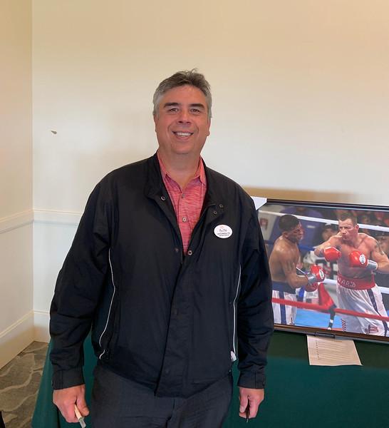 Four Oaks Country Club head golf pro Tony Martinho