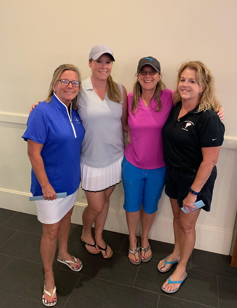 From left, Mary Kay Gorman of Dracut, Kristen Greenquist of Londonderry, N.H., and Cheryl Allwood and Justine Keenan of Dracut