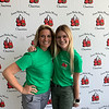 Loyal volunteers Amanda Sullivan of Medford and Mikayla Bell of Lowell