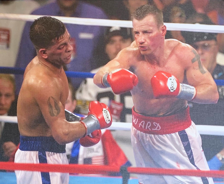 Rivals in the ring but the best of friends out of it, Micky Ward and the late Arturo Gatti
