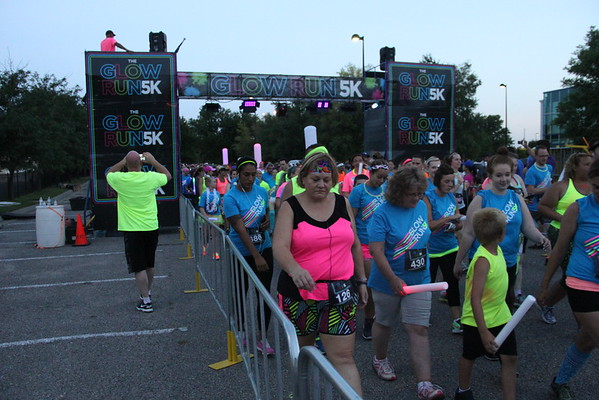 Glow Run 5K 2016 Wichita