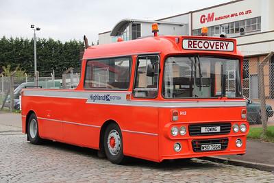 Preserved WSD756K Fordneuk St Glas Oct 13