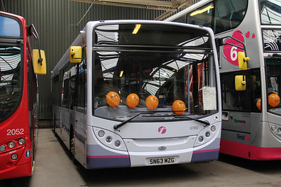 First Glasgow 67883 GVVT Bridgeton Oct 13