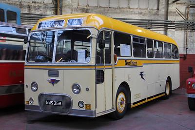 Preserved NMS358 GVVT Brdgeton Oct 13