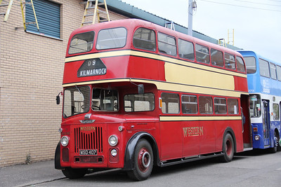 Preserved MSD407 Broad St Glas Oct 13