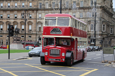 Preserved HGM346E George Square Glas Oct 13