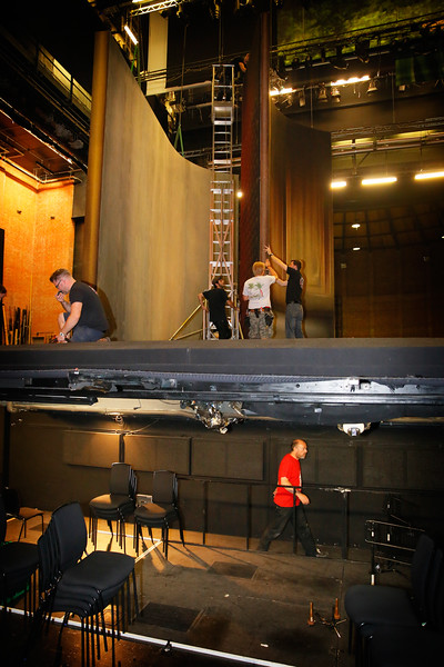022 Glyndebourne Tour 2014 Preparations & Load Out Day 25 10 14