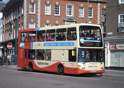 672 - YN07UOU - Brighton (Old Steine) - 10.4.12