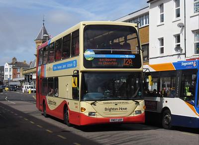 673 - YN07UOF - Eastbourne (Terminus Road) - 10.4.12