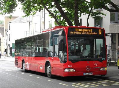 824 - MC52OXF - Oxford (New Road)