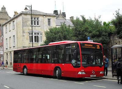 832 - X2OXF - Oxford (St. Aldate's)