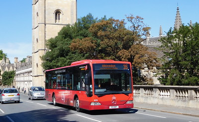 833 - X3OXF - Oxford (High St)