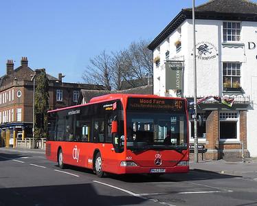 822 - MA52OXF - Oxford (Park End St)