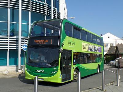 1579 - HW63FHA - Newport (bus station)