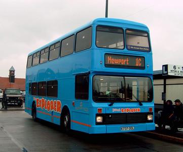 737 - K737ODL - Newport (old bus station) - 7.4.05
