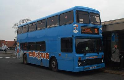 735 - K735ODL - Newport (old bus station) - 16.2.04