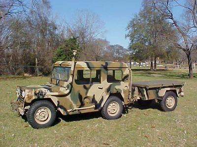 M151 Hardtop & Trailer