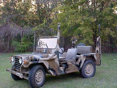M151A2 Tall Exhaust