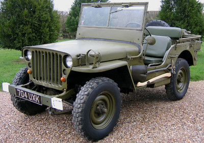 59 Willys Jeep French Army MB