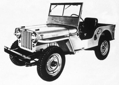 1941 Jeep CJ2A