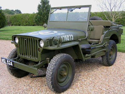 60 Willys Jeep French Army MB