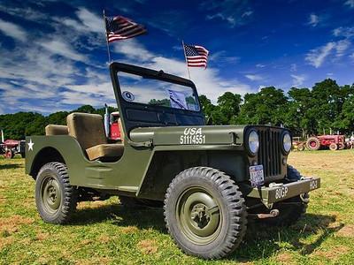 1948 Green Jeep