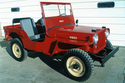 1948 Willys CJ2A Original Color