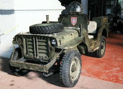 Willys with Spare on Hood
