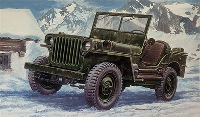 Willys Jeep Paint Job
