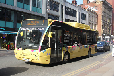 Go North West 49110 Deansgate Manchester Mar 20