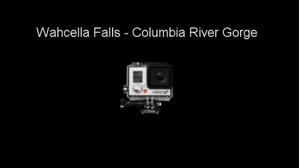 Wahcella Falls - Columbia River Gorge - for Mobile Devices