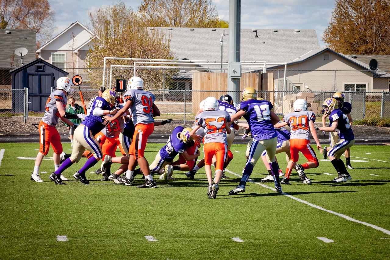 Cowboys V vs Huskies V   031