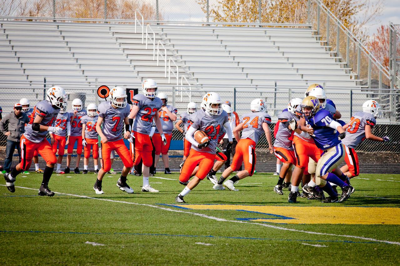 Cowboys V vs Huskies V   025