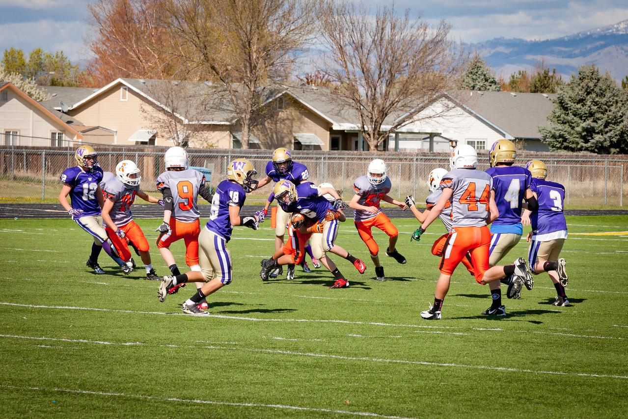 Cowboys V vs Huskies V   020