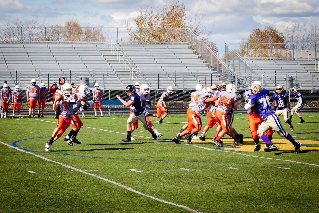 Cowboys V vs Huskies V   040