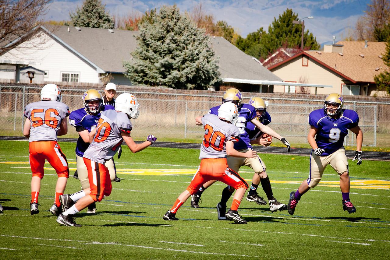 Cowboys V vs Huskies V   035